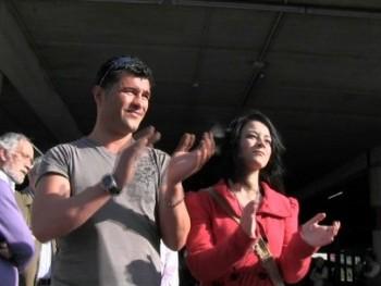 Huelga General del 29M: manifestaci�n en Ferrol. Pedro liga con una chica y nos acaba pidiendo que la meemos en la boca.